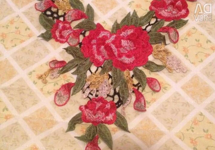 New Embroidery ROSES