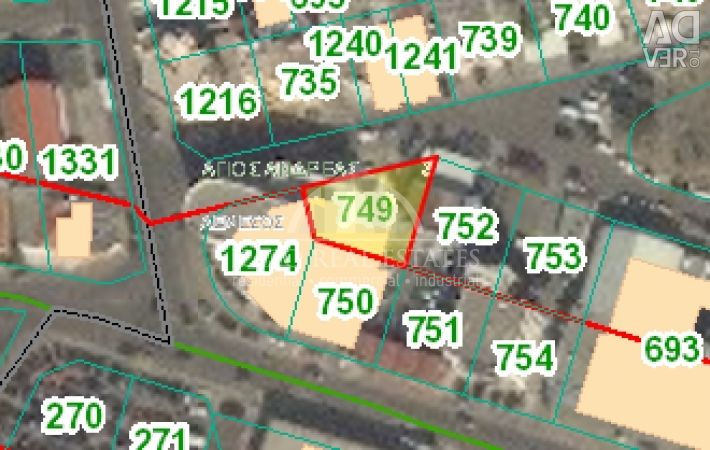 Plot Commercial in Apostolos Andreas Limassol