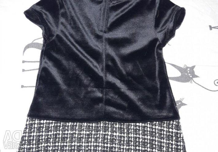 Сукня з накидкою-пальто.