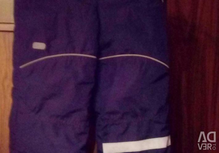 Children's winter balloon pants