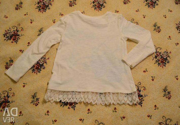 Μπλουζάκια με μακρύ μανίκι, ποτάμι 116-122