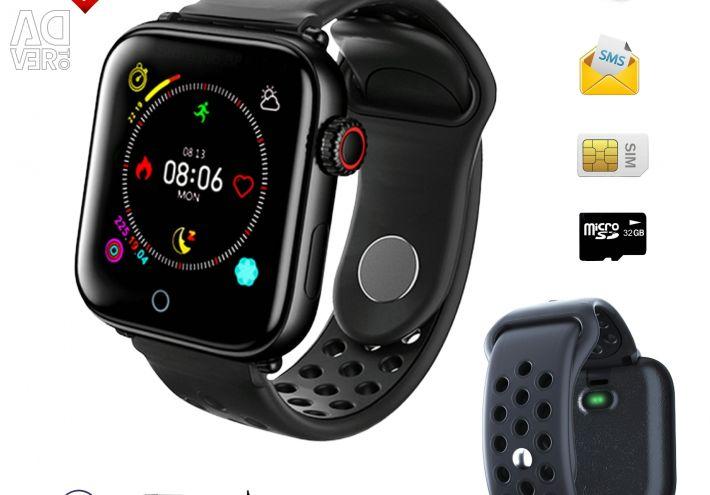 🔥 Смарт Браслет Z6S Black Sim 2G Bluetooth Нові