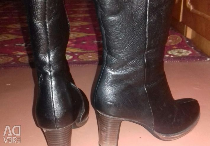 Leather-winter boots p.38