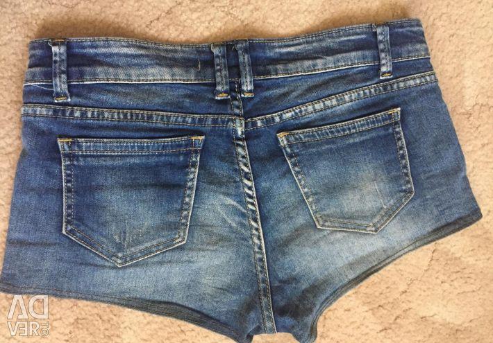 Denim shorts?