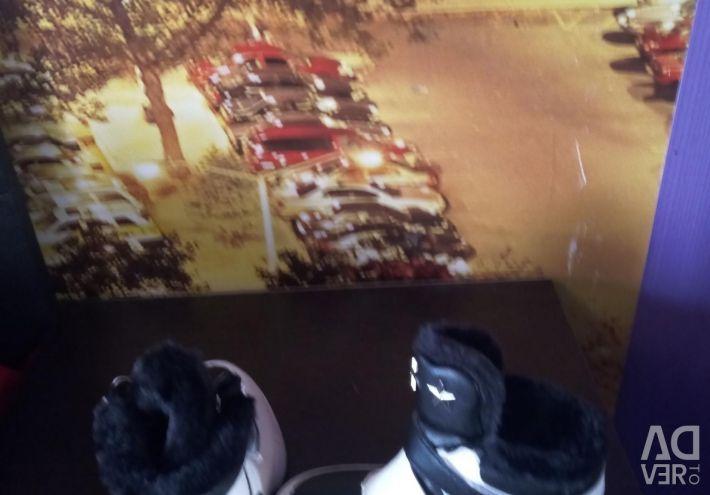 Spor ayakkabı kış