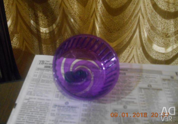 New hamster wheel