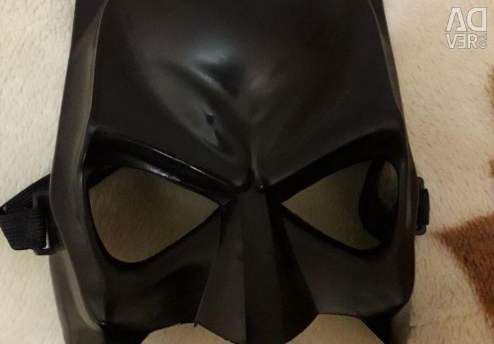 Batman's mask and cloak