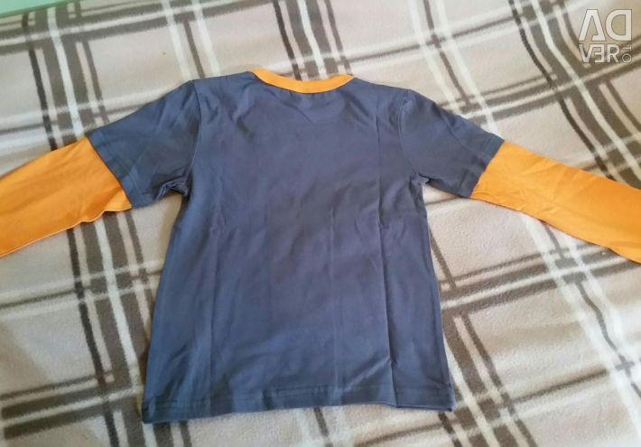Νέο μπλουζάκι με μακρύ μανίκι