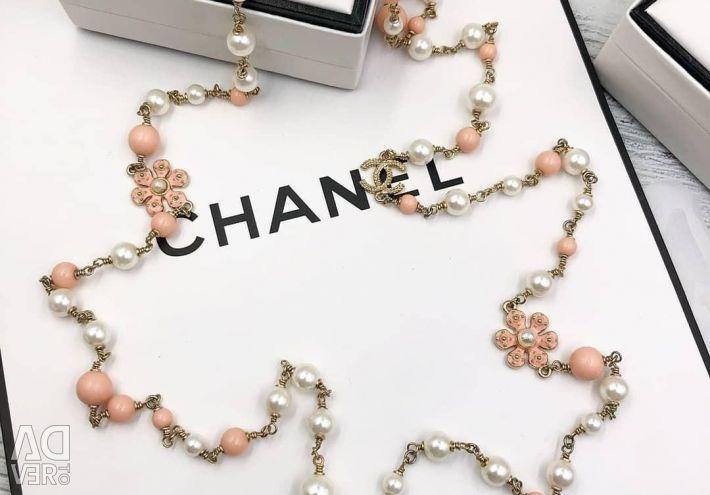 Chanel margele și cercei