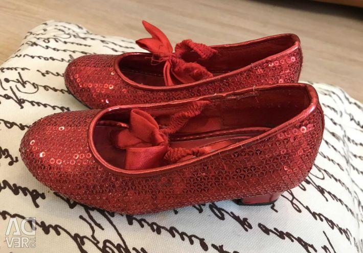 Παπούτσια για κορίτσια, μεγέθους 24