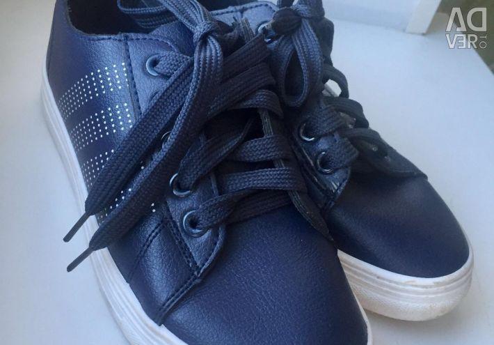 Spor ayakkabı deri şık nehir 36-37