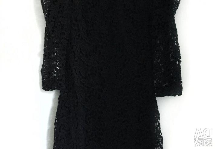 Чeрное мереживне плаття MANGO (нове)