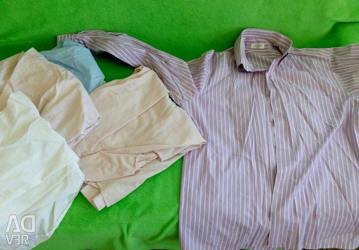 6 shirts L, XL