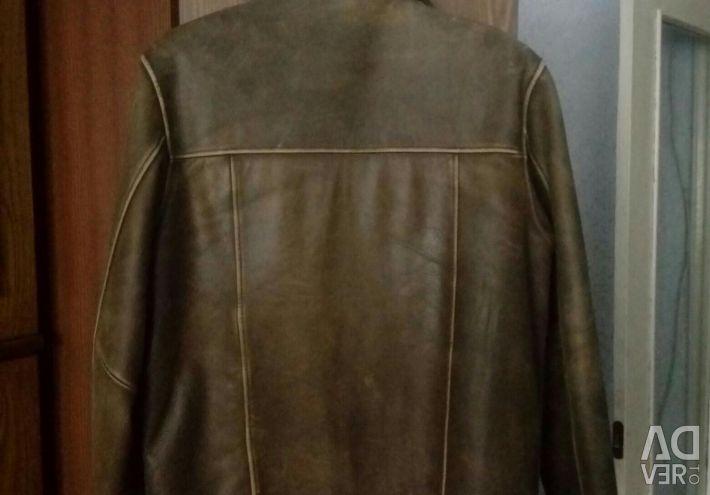 Jacket for men, natures. leather