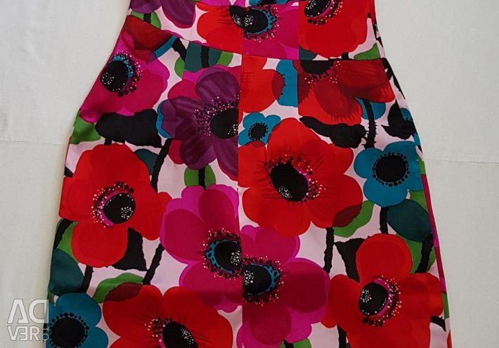 Dress America silk natural new