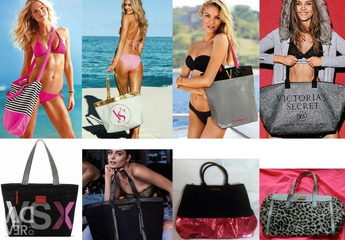 Spectaculos sac nou Victoria's Secret cu paiete