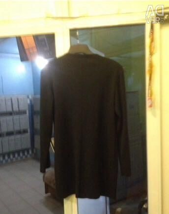 Jacket black with clamps and stones r. 48-50