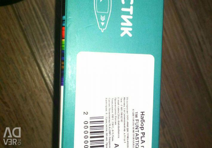 3d kalem için PLA plastik seti