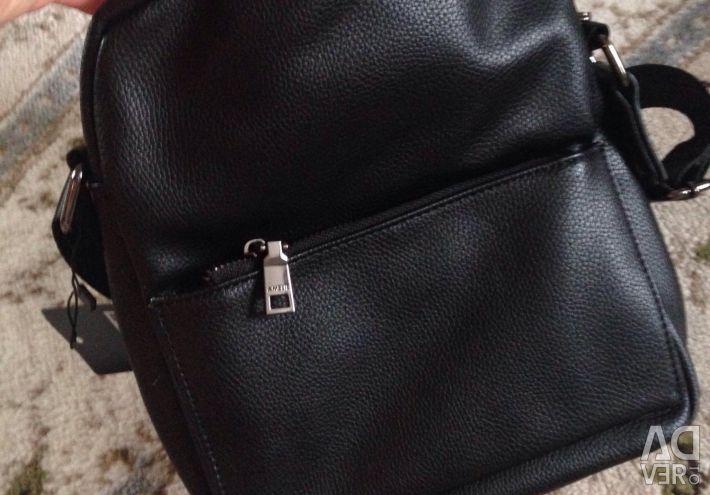 Men's black bag