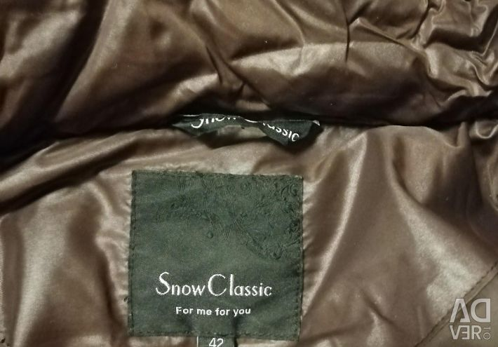 Snowman down jacket