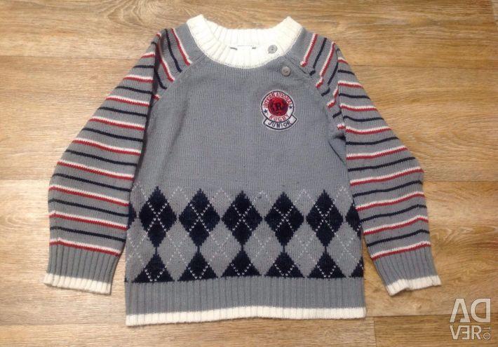3 sweaters per boy 4-6 years.