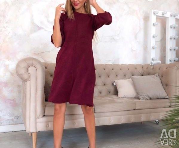 Rochie midi culori diferite nou