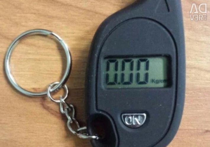 Μέτρηση πίεσης ελαστικών