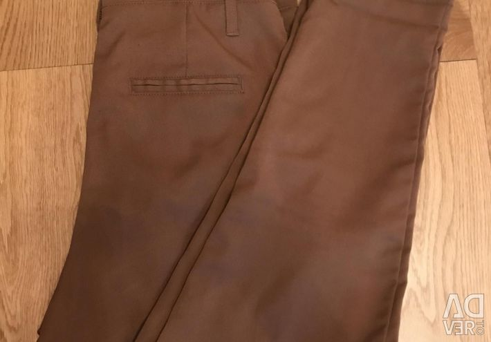 Classic pants with high waist