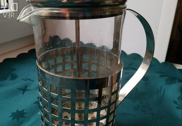 2-in-1 coffee pot and teapot