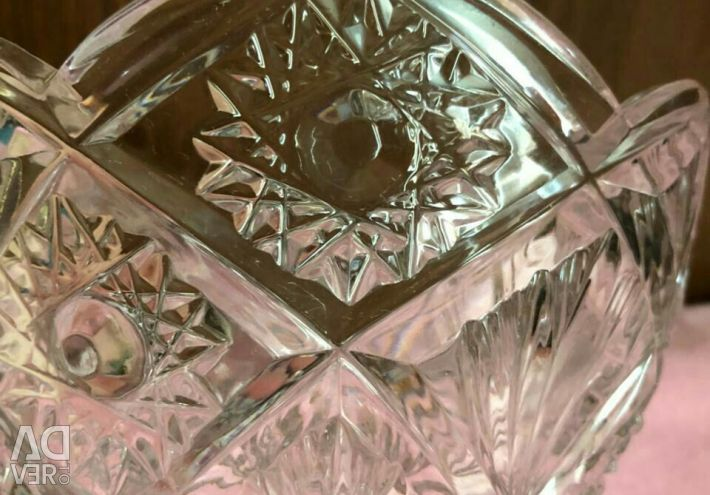 Bomboană de cristal (castron pentru salată)