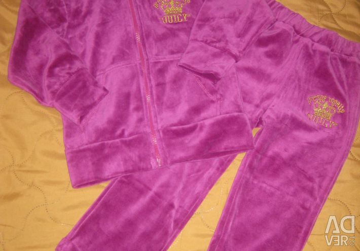 Beautiful velor suit r.116