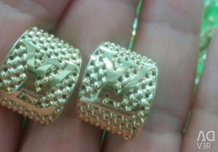 Chic LV Cercei de aur