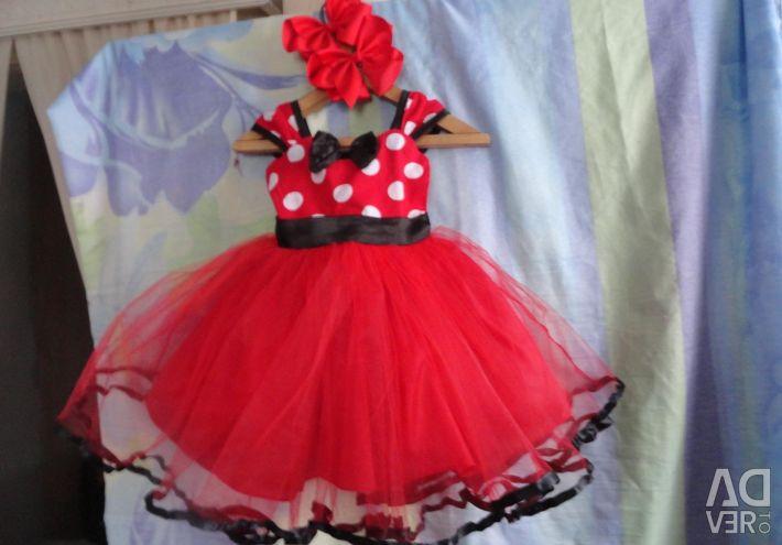 Dress - tutu Minnie Mouse 4 - 6 years