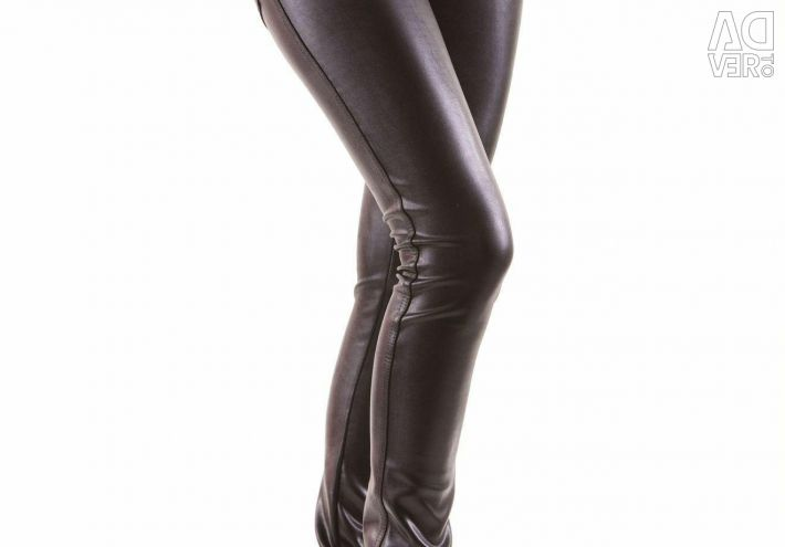 Leggings eco-leather
