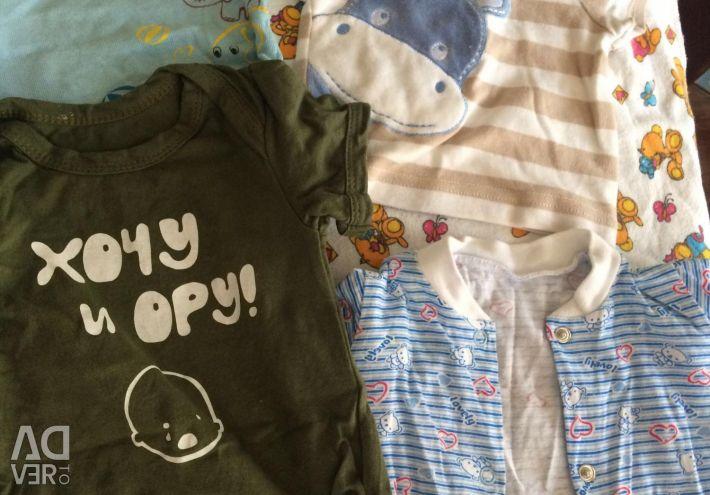 T-shirt για ένα αγόρι μέχρι ένα χρόνο