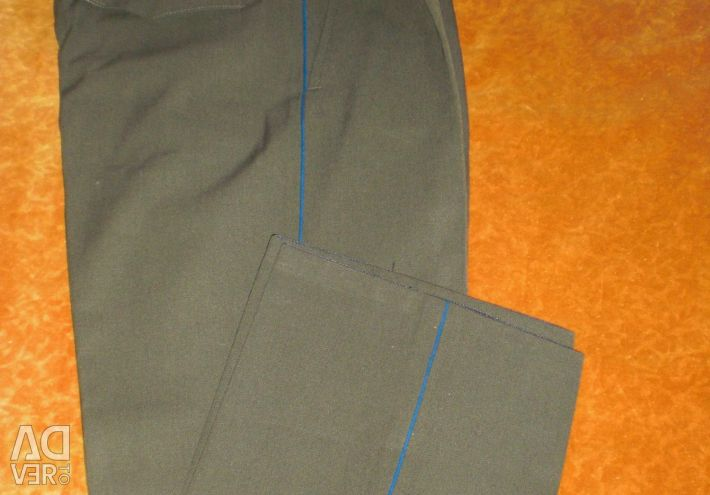 Military style trousers