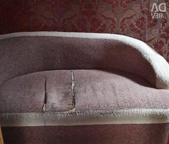 Sofa for summer cottage 1000