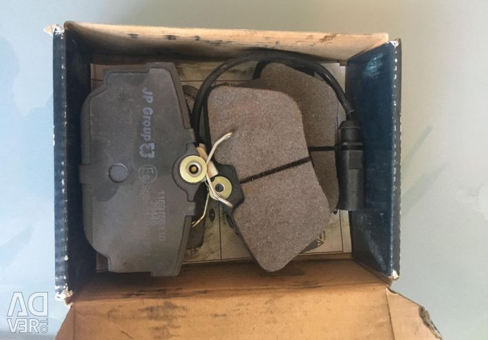 New brake pads (Citroen C4)