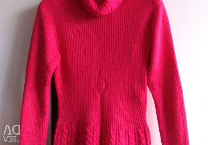 Jumper half-woolen red river 44-46