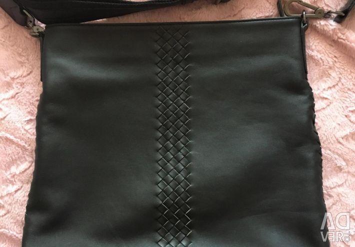 Bag leather new unisex corso como