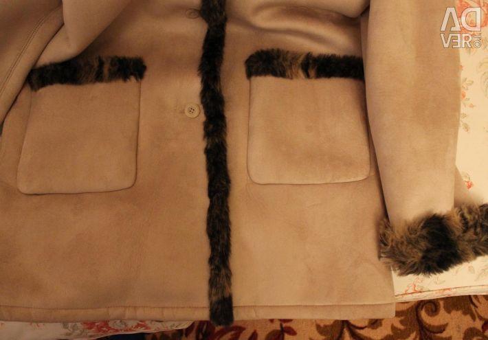 Sheepskin coat female Your 6th Sense