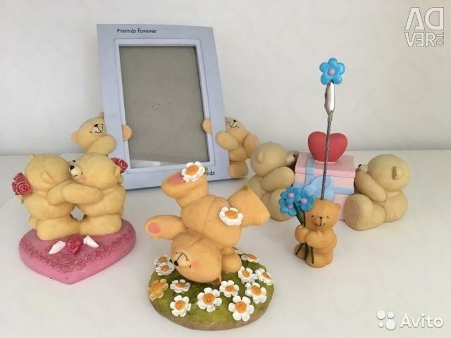 Figurines, photo holders Hallmark Forever Friends