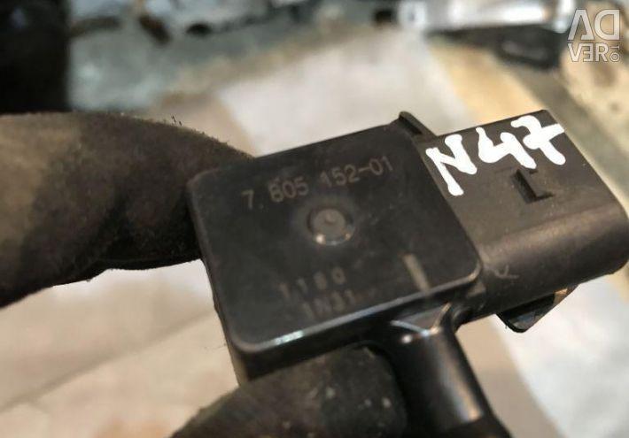 BMW 13627805152 exhaust pressure sensor