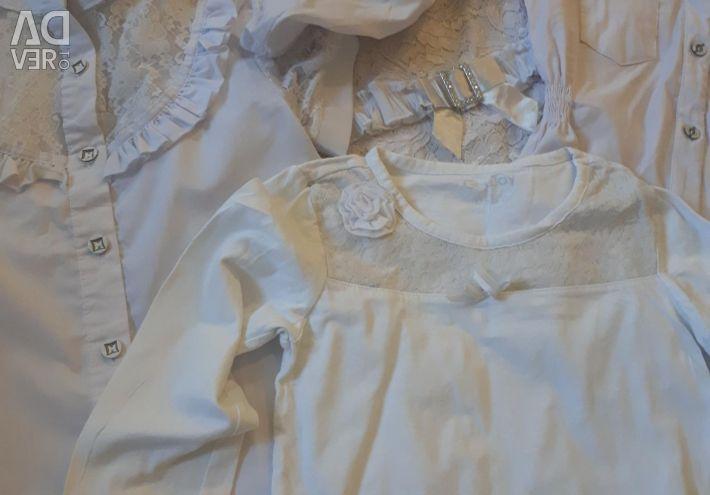School blouses by package