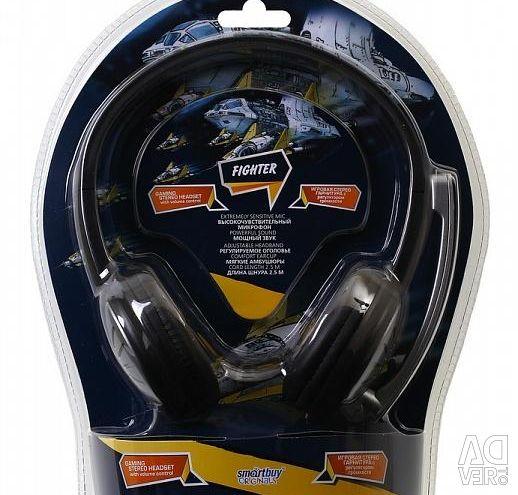 SmartBuy SBH-7500 FIGHTER Mikrofonlu Kulaklık