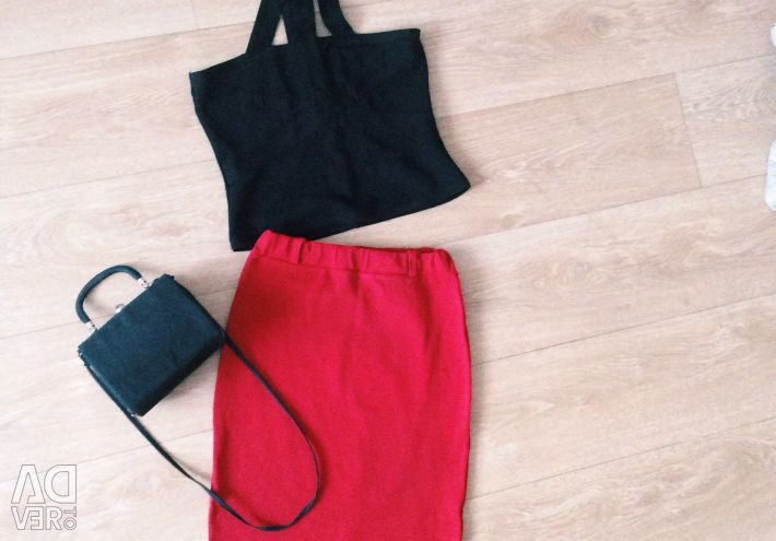 Κορυφή / φούστα / τσάντα
