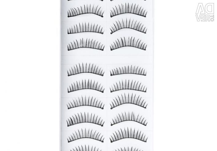 False eyelashes 10 pairs New