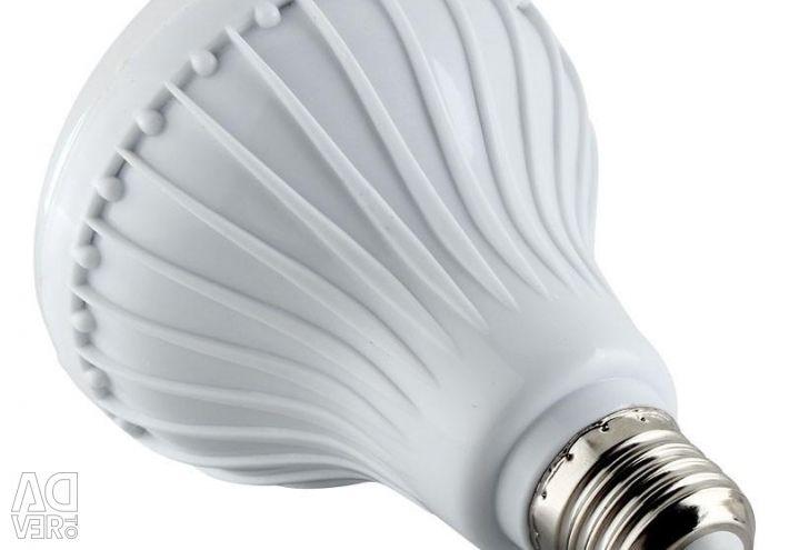 Light bulb RGB 12W with remote control