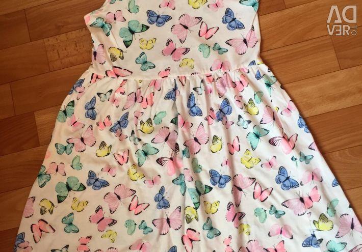 Yazlık elbise - elbise 7-8 yaş