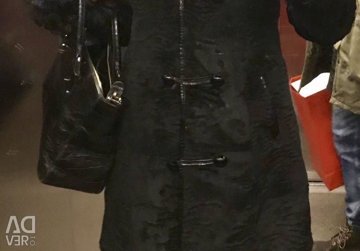 Γούρι παλτό p-44 από τη βασίλισσα χιόνι